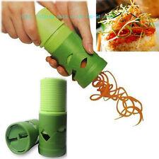 Vegetable Spiral Slicer Cutter Spirelli Spiralizer Twister Peeler Kitchen Tool K