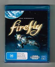 Firefly -The Complete Series Collection Blu-ray 3-Disc Set Brand New & Sealed