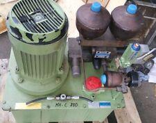 Hydraulikaggregat aus MAHO MH-C800P