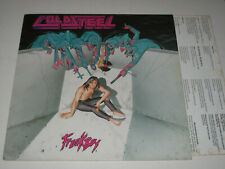 Coldsteel - Freakboy (Turbo Records Thrash Metal Vinyl LP - 1992 + Insert)