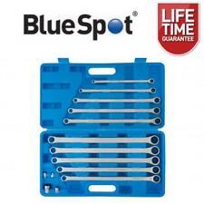 BlueSpot 10 Piece Extra Long Ratchet Spanner and Adaptor Set 8 - 19mm 04307