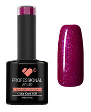 600 VB™ Line Red Metallic Burgundy - UV/LED soak off gel nail polish