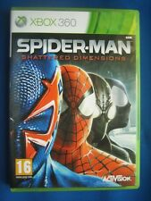 ★☆☆ XBOX 360 - Spider-Man Shattered Dimensions ☆☆★