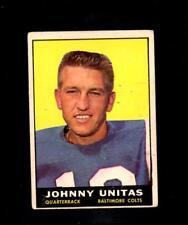 27675* 1961 Topps # 1 Johnny Unitas (filler)