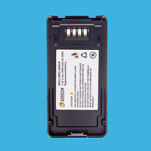 Rechargeable Server Radio Battery for Kenwood JVCKENWOOD KNB-L3 NX-5200 NX-5400