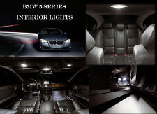 * BMW 5 SERIE E60 E61 KIT Premium LED 14pcs Bianco Interni Errore libero SMD E90 E91