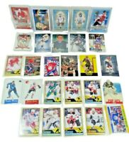 NHL HOCKEY CARDS Lot of 27 Variety Gretzky Lafleur Exposito Roy Ovechkin Iginla
