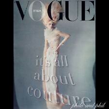 Supplement of VOGUE ITALY ITALIA March 2011 Stella Tennant Guinevere Carmen Kass