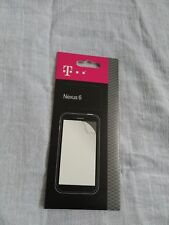 NEW T-Mobile Screen Protectors For Google Nexus 6 2PK Anti-Scratch Clear