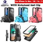 iPhone Xs Max/XR/Xs/X/6/6s/7/8 Plus Case, i-Blason Armorbox Case Cover w/ Screen