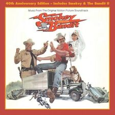 SMOKEY & THE BANDIT I & II (40th anniversary soundtrack)  (CD) Sealed
