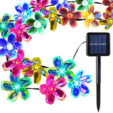 21ft 50 Leds 8 Twinkling Modes Solar Powered Fairy String Lights Lawn Yard Decor