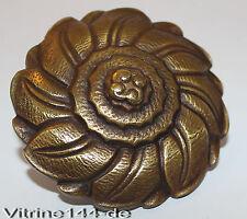 Bronzo rosette applicazione fioritura pezzo di ricambio bullone ornamentali + per filettatura m10x1 #4