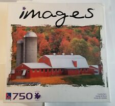 Sure-Lox Jigsaw Puzzle 750pc COUNTRY BARN Images . New. SEALED.