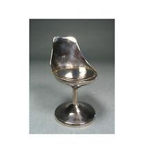 """Eero Saarinen Sterling Silver Mini """"Tulip"""" Chair by ACME Studio NEW"""