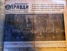 Alte Zeitungen 1947-54 Konvolut Russland Moskau Stalin Russia ca.180 St.