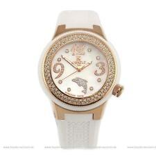 Erwachsene Armbanduhren mit Silikon -/Gummi-Armband und mattem Finish für Damen