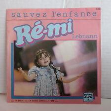 RE MI Sauvez l enfance / Lebnann 11098