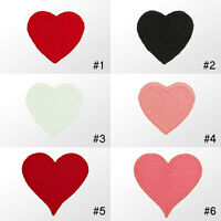 #2190IR Heart Love Emo Embroidered Sew Iron on Motif Applique Hotfix Patch Badge