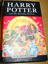 Rowling,  HARRY POTTER AND THE DEATHLY HALLOWS, 2007 PRIMA EDIZIONE