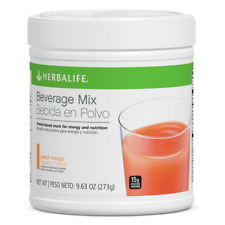 Herbalife Beverage Mix Canister: Peach Mango 9.88 Oz. FREE SHIPPING