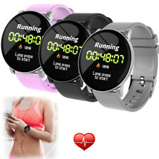 Bluetooth Smart Watch Heart Rate Monitor Smartband Calls Reminder for Cell Phone