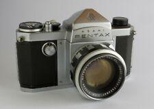 Rare Asahi Pentax K 35mm SLR Camera & Auto-Takumar 55mm f1.8 Lens Working & EXC