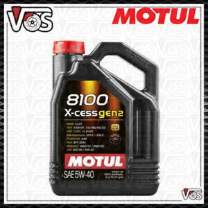 OLIO MOTUL 8100 XCESS X-CESS GEN 2 5W40 5 LITRI TAGLIANDO VW 502.00 505.00