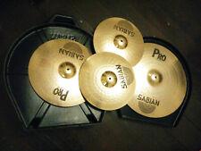 Sabian Pro cymbal set with Vault hard case Hi Hat Ride Crash