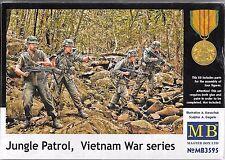 1/35 Master Box 3595 Vietnam Era - Jungle Patrol  5 Figure plastic Model Kit