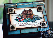 Fishing Basket pole (U get photo #2) L@@k@examples Our Daily Bread Rubber Stamps