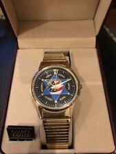 NWT Jules jurgensen mens watch, Police Face, Expands
