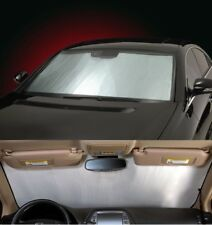 SILVER Sun Shade for windshield - CUSTOM Precision Cut - For Nissan M-Z