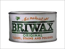 BRIWAX Teak Wax Polish 400g Wood Furniture Cleaner Restorer 400 GM