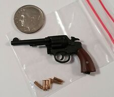 DID WWII US SGT Donald hell on Wheels Metal Revolver 1/6 Toys Soldier dragon gi