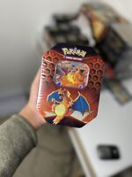 Pokemon TCG Hidden Fates Tin - Charizard - Pokemon Cards - NEW & SEALED 🇬🇧