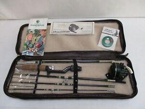 Vintage Johnson Executive Travel-Pac Fishing Rod Set