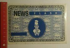 Pegatina/sticker: News Flash bibop (27071670)