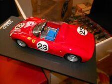 1/18 Ferrari 250 P 1963 Le Mans car #23 model  # 20 of120  Alcantara Base  f9