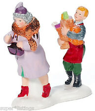 Dept. 56 Carry Out Boy Retired 2003 Snow Village 55178 New in Box