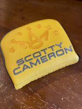 Scotty Cameron Headcover - Phantom X Mallet Yellow - Mid Square