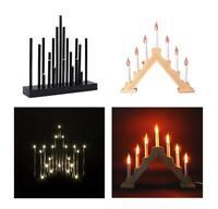 Christmas Flickering Candle Bridge Arch Light