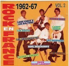 "RARE! CD ""ROCK EN FRANCE 1962-67, VOLUME 2"" Les Aristocrates, Noel DESCHAMPS, .."