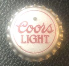 COORS LIGHT BUZTRONICS Beer blinking blinker bottle cap badge pin light-up