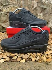 NIKE AIR MAX 90 TRAINERS | TRIPLE BLACK | ADULTS | ALL SIZES | NEW IN BOX