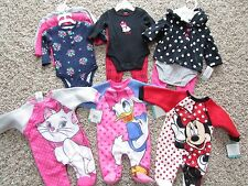 NEW HUGE LOT /11 BABY GIRL CLOTHING CARTERS DISNEY SETS OUTFITS 3 MONTH FREE SHP