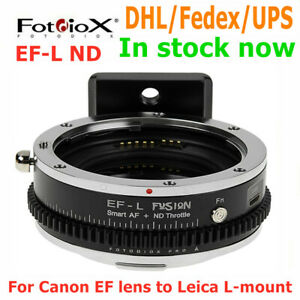 Fotodiox EF-L ND Auto Focus Lens adapter for Canon EF lens to Leica L Mount S1/R