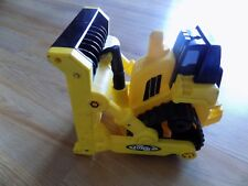 2006 Hasbro Tonka Yellow Metal Bull Dozer Bulldozer Construction Vehicle Toy EUC
