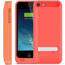 iFans® [Apple Certified] 2400mAh iPhone 5/5S/SE/5C Battery Charger Case -Pack