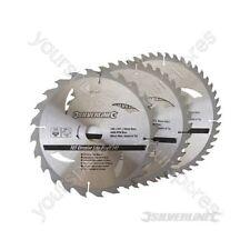 Hojas De Sierra Circular TCT 24, 40, 48 T 3pk - 230 X 30 - 25, 20, 16 mm Anillos